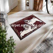 Flocked Olefin Floor Mat, Door Mat, Printed Carpet 001