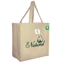 high quality cotton handle paper shopping bags (YC1892)