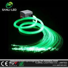 5W LED color changing fiber optic light for ceiling star