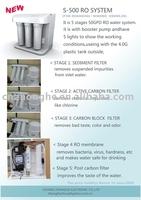 RO S-500 water purifier(RO water system,ro water purifier,water purifier)