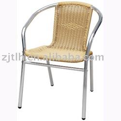 Aluminium rattan chair