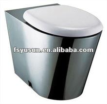 freestanding Stainless Steel Toilet Toilet Pan toilet bowl prison toilet jail toilet