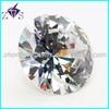 wholesale round gems machine cut cz stone