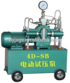 duplex manual de prueba hidráulica de la bomba