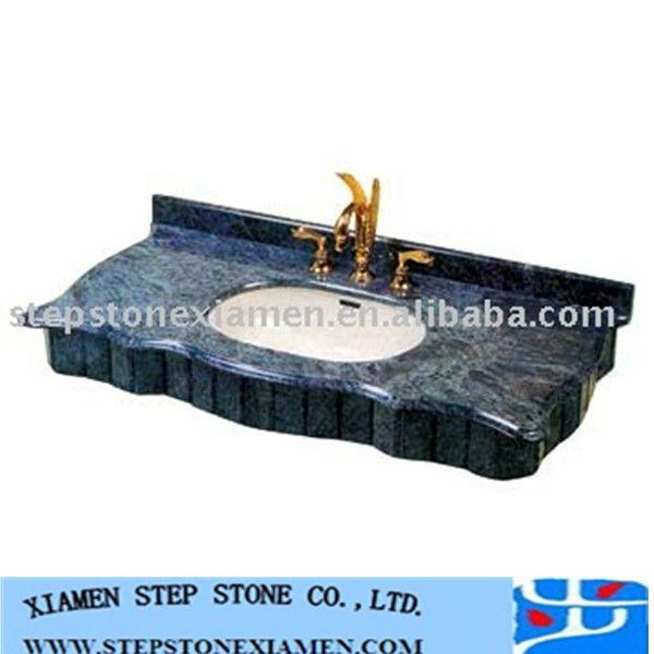 Bathroom vanity units suppliers - Granite Stone Double Bowl Bathroom Countertop Buy