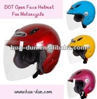 Huadun open face motorcycle helmet, women open face motorbike helmet, HD-535
