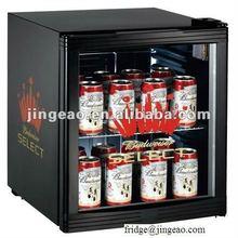 50L ETL mini cold showcase display refrigerators