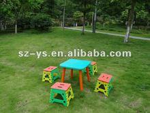 plastic children desk and chair