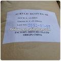 Resina acrílica termoplástica sólida para pintura/recubrimiento/tinta de impresora