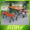 High Quality Outdoor Park Wooden Table and Chair