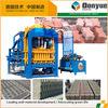 Concrete Fly Ash Block Making Machine QT4-15C Automatic Cement Hollow Block Machine Price