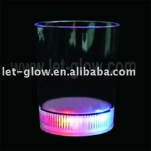 200ml Plastic Led flashing Drinking cup,Lighted fruit cup Wedding Decoratives