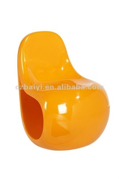 Popular Fashional fiberglass dining chair