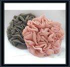 soft special chiffon hair fabric flower,children headdress flower