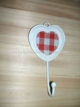 Heart shape Metal hook with picture frame