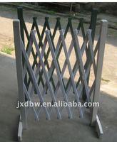 wood frame folding plastic picket fence