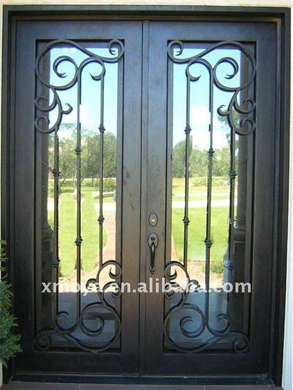 Exterior De Metal Con Aislamiento De Puertas Puertas