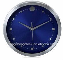 10 inches metal wall clock aluminium clock special dial design low price