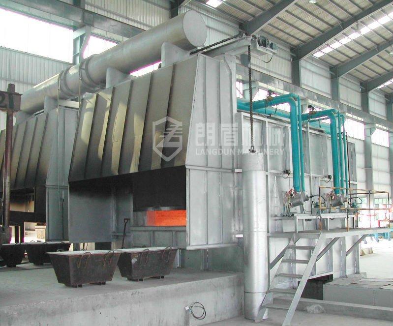 Alumínio fusão forno de espera forno