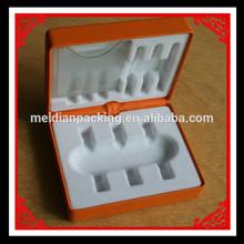 Handcraft brown pu leather aluminum dart gift box