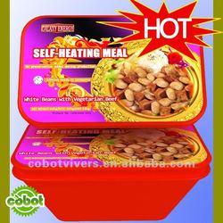 Self heating rice meal
