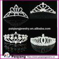 nova chegada do casamento tiaras pageant coroa para venda