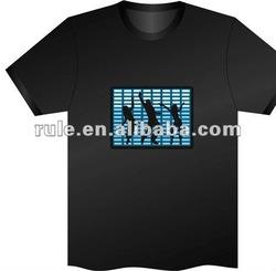 2014 LED T Shirt wholesale/LED lighting T Shirt in stock