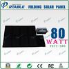 High Efficient 80W Solar Laptop Charger Bag /18V/4.5A Portable Solar Charger Bag