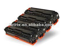 Competitive Price Compatible Black/Color Laser Toner Cartridge for hp CE320/1/2/3A _J