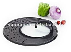 non-stick mutil pan lid, carbon steel pot lid