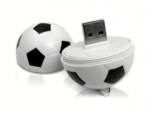 Wholesale Freesample Highspeed usb flash drive football for Promotional gifts