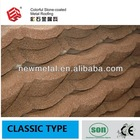 Classic Colorful Stone-Coated Metal Roofing Tile / color stone-coated metal roof tile /Stone Chip Coated Metal Roof Tile Sheet