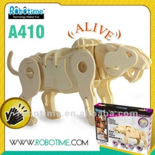 3 Dimensional Intelligent Wooden Toy with DISNEY audit