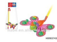 push and pull cartoon king ant, baby toys