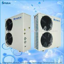 air to water air heating heat pump evi -25C