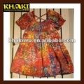 ünlü markalı klasik küçük kızlar pamuk yazlık elbiseler