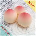 Skincare 30g embalagens pêssego forma jar, 80g cosméticos embalagem apple forma jar, 10g cereja forma redonda pequena forma jar