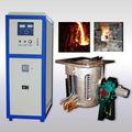 30kg para 500kg aço ferro alumínio cobre de indução fornalha de derretimento