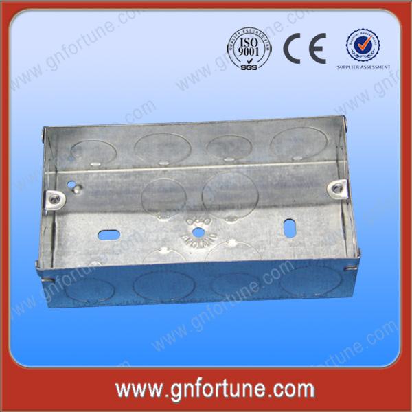 venta caliente 3x6 eléctrico interruptor de metal cajas