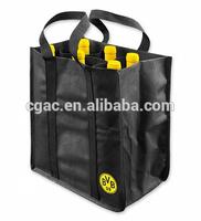 2015 new eco non woven wine gift bag