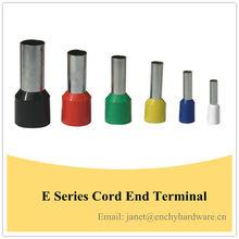 E Series Pre-insulated Tube Wire Terminals