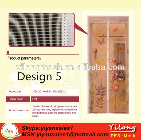 bricolaje mosquitero magnético de la puerta de la cortina