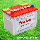 12V 60AH Yuasan Dry Charged Lead Acid Japan Standard Car Battery N50Z