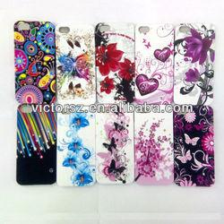 for i phone 5 case, heart& flower& star& butterfly pattern
