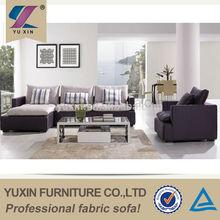 Down feather seating fabric sofa/feather fabric sofa set