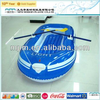 2014 pvc fashion plastic inflatable boat