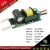 4-7*1w constant current driver led power supply