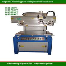 KC-PS-90160PV Vacuum table screen printer