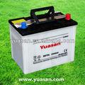 Top 12v65ah japonês seca da bateria de carro- ns70l