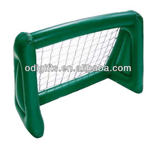 plastic portable advertising inflatable portable soccer goal for children for indoor and outdoor use